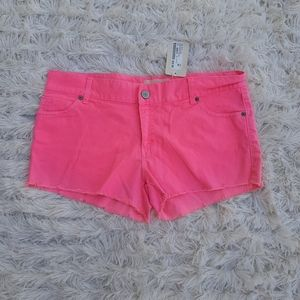 3 for $30/ HOT PINK shorts